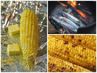 Camping corn