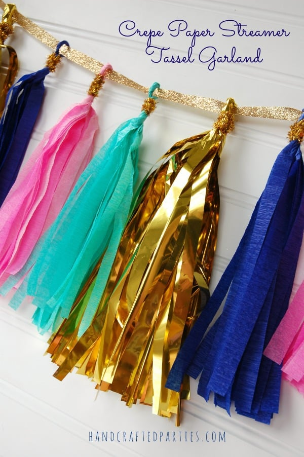 Crepe-paper-tassel-garland_gold-and-glitter-glam_Handcrafted-Parties