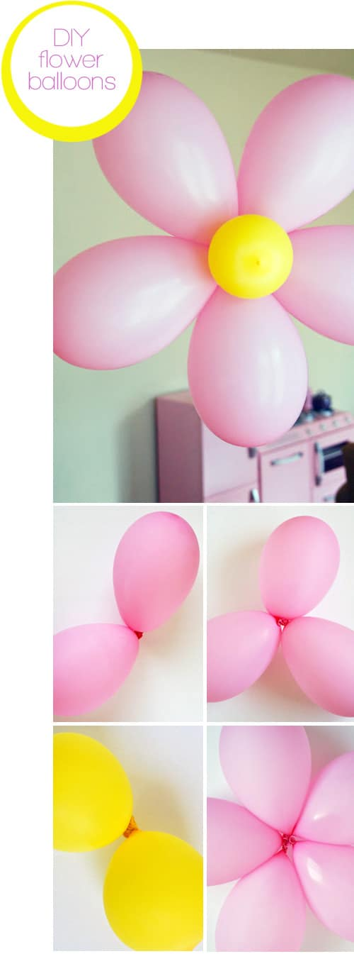 DIY-flower-balloons