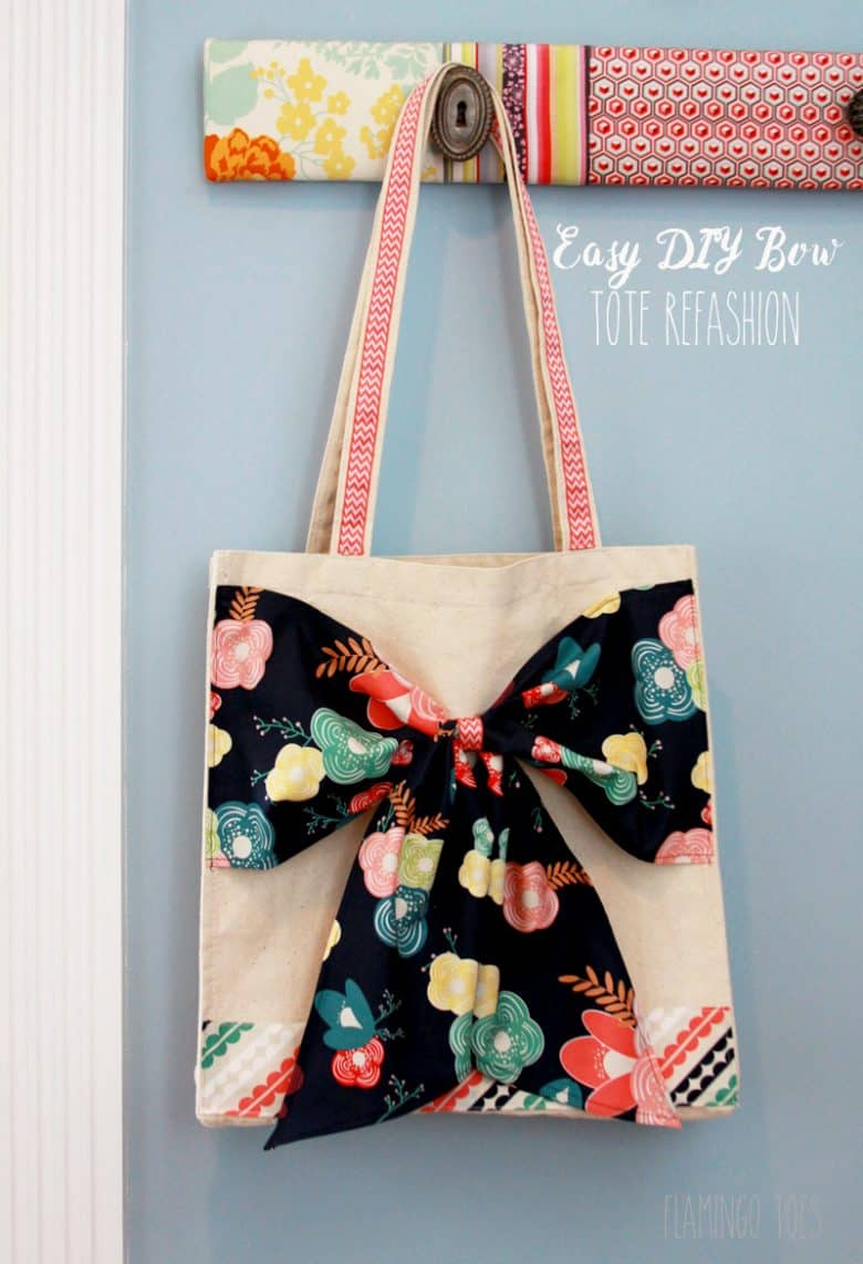 Easy-DIY-Bow-Tote-Refashion