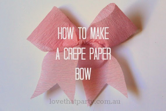 How to make a bow 1