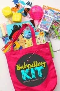 Babysitting kit