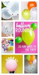Balloon present and roundup