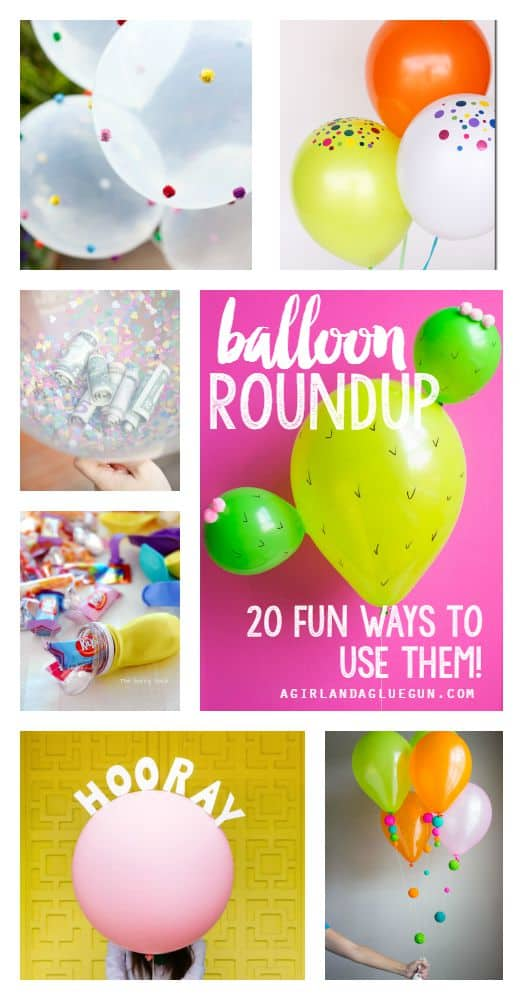 balloon roundup 20 fun ways to use them for birthday and parties
