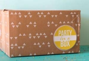 This Is A Fun Present For People To Send In The Mail I Keep Wanting Call It Birthday Boxbut Really You Should Be Able Have Party Anytime