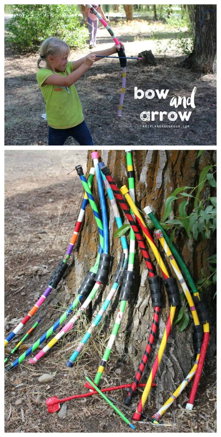 bow and arrow diy