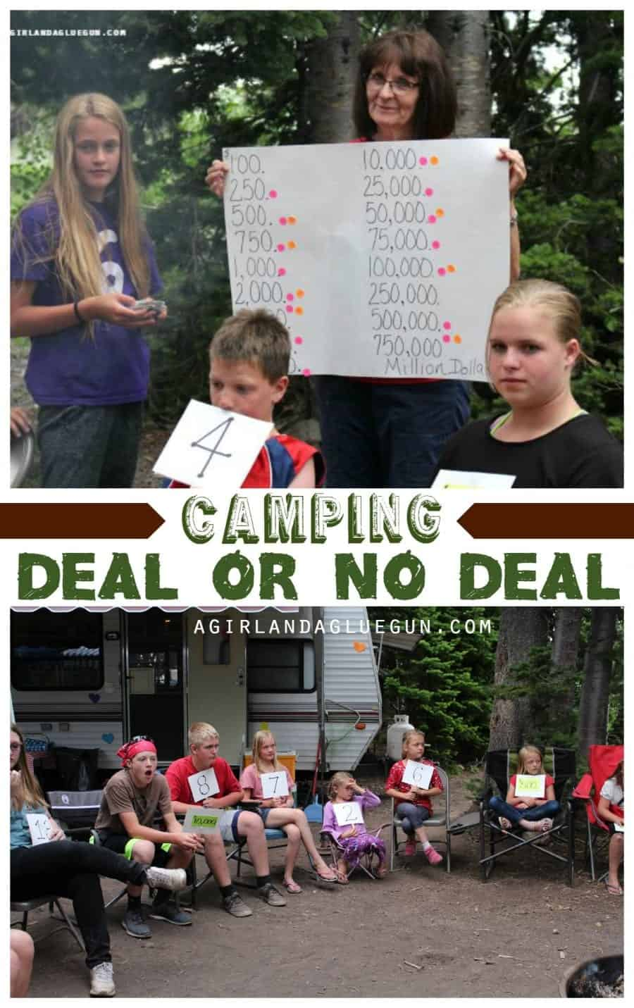 camping deal or no deal game