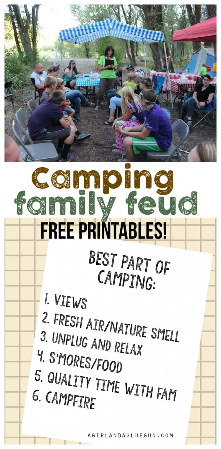 camping family feud