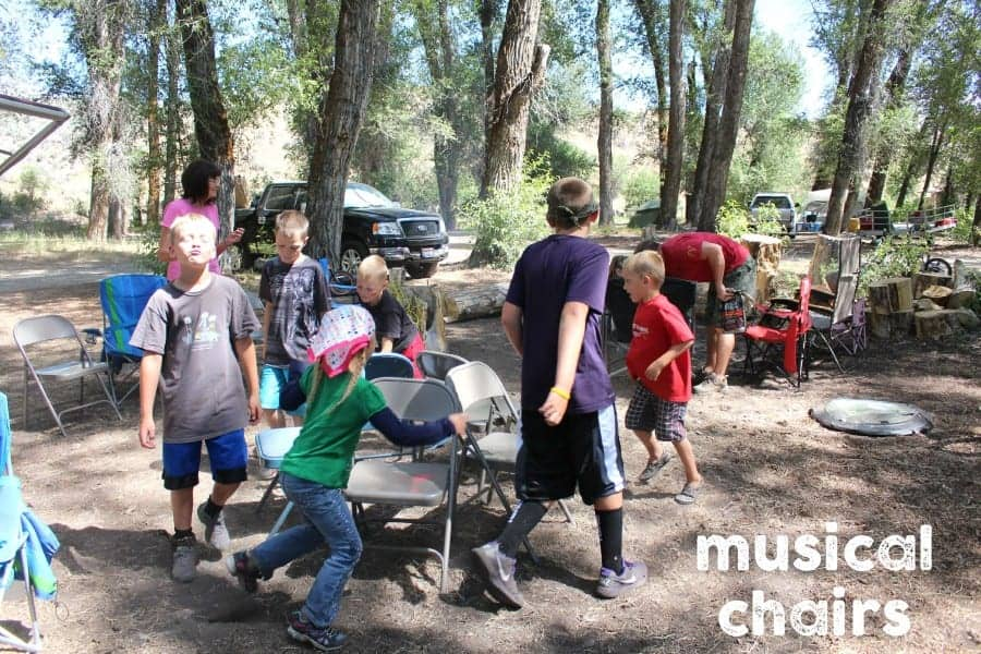 camping musical chairs