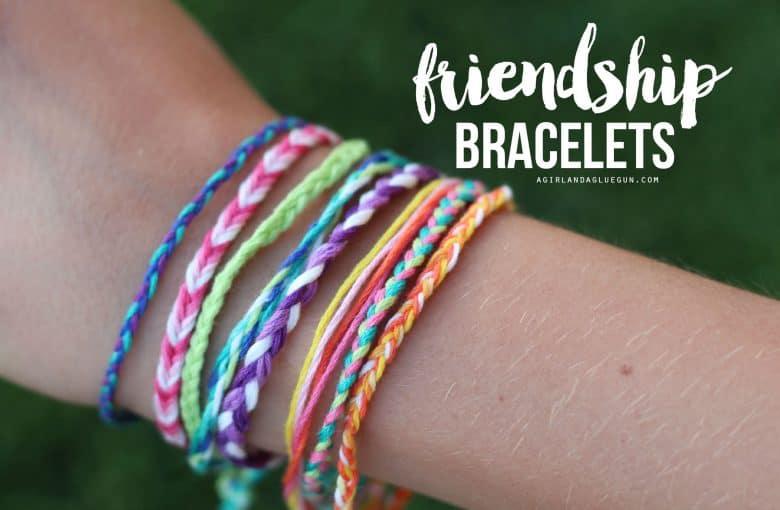 Friendship Bracelets Kid Craft Monday