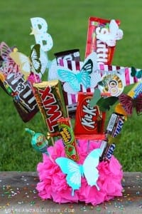 Birthday bouquet of candy