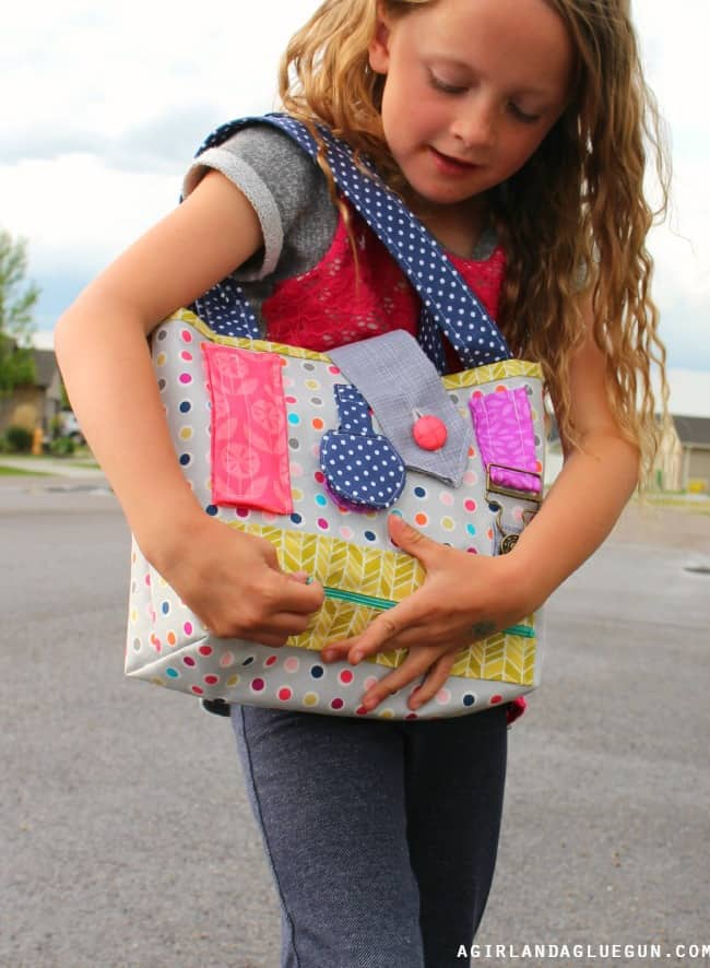 fun interactive purse for kids