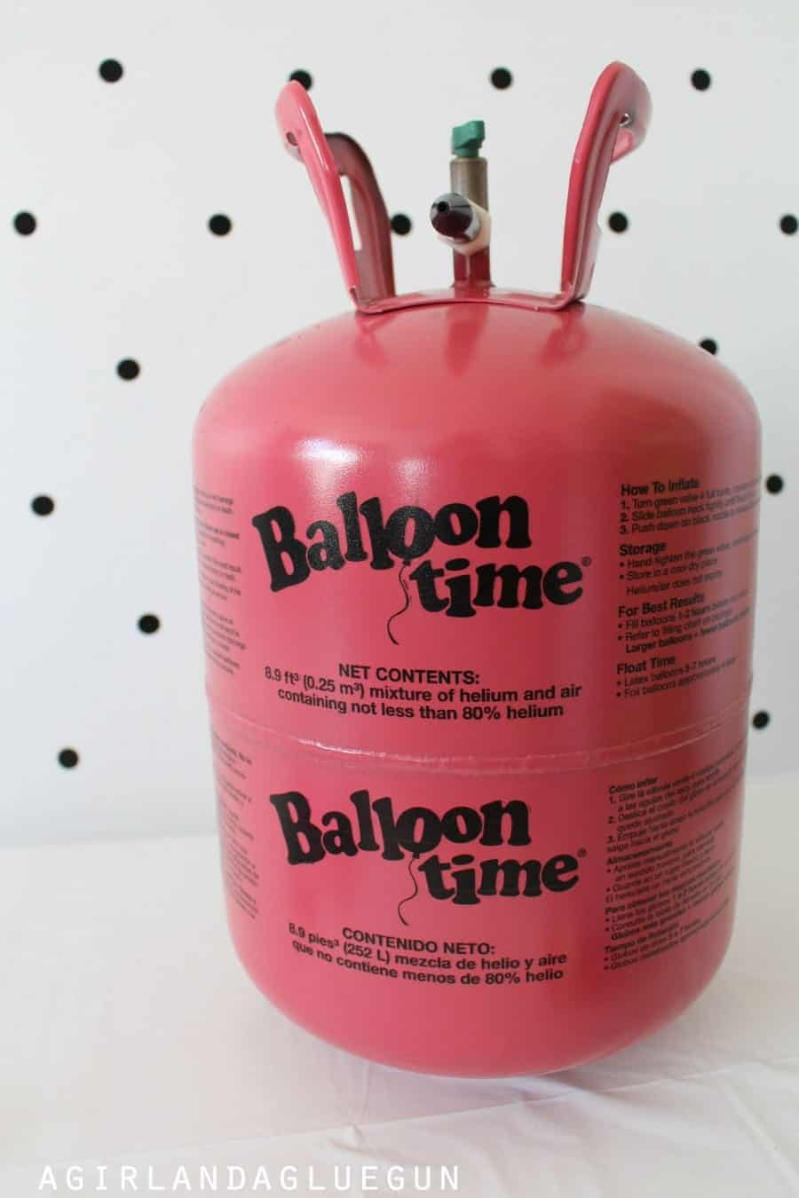 helium balloons balloon time