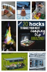 Over 20 ideas that will make your camping trip AMAZING!