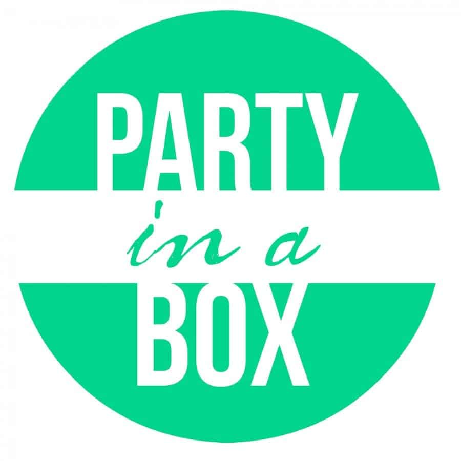 party in a box blue