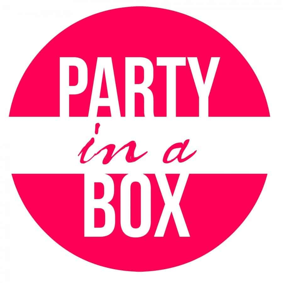 party in a box printable pink
