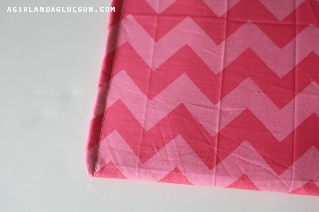 sew the sides of a girl bag
