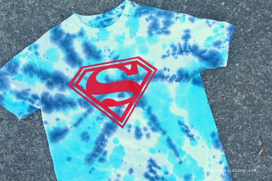 superhero shirt diy