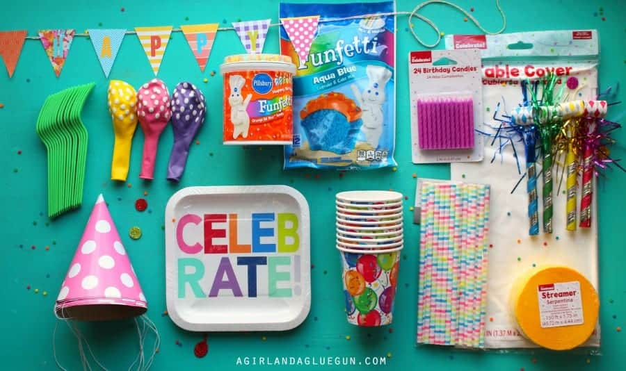supplies you need for a party