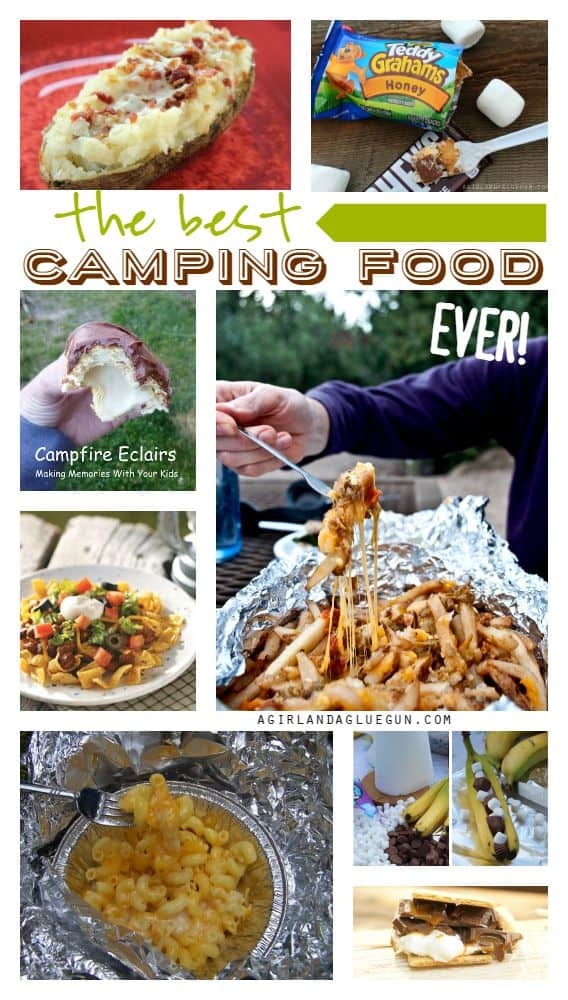 the yummiest and easiest camping food roundup