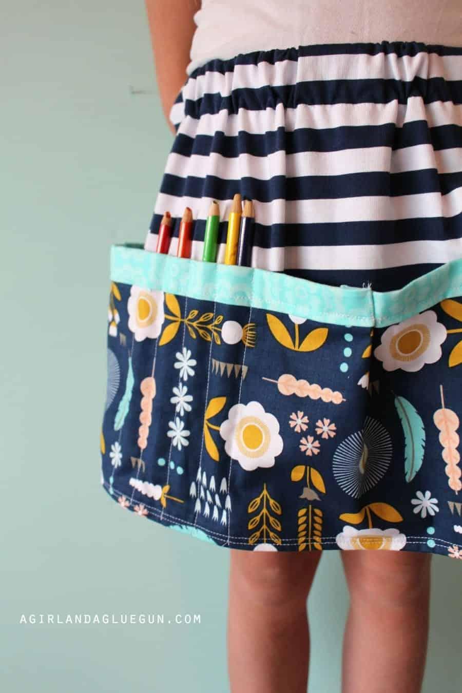 utility apron skirt
