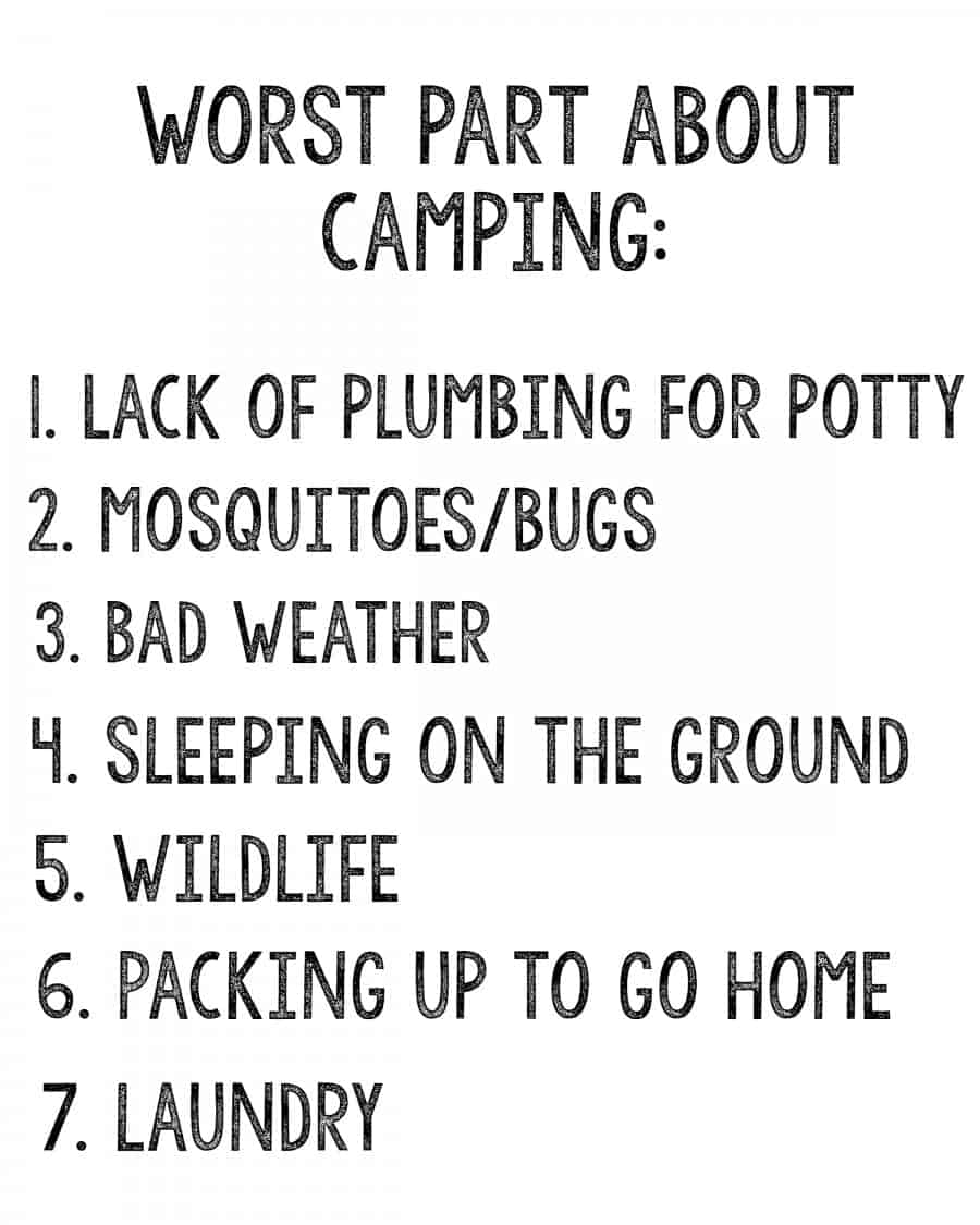 Camping games! - A girl and a glue gun