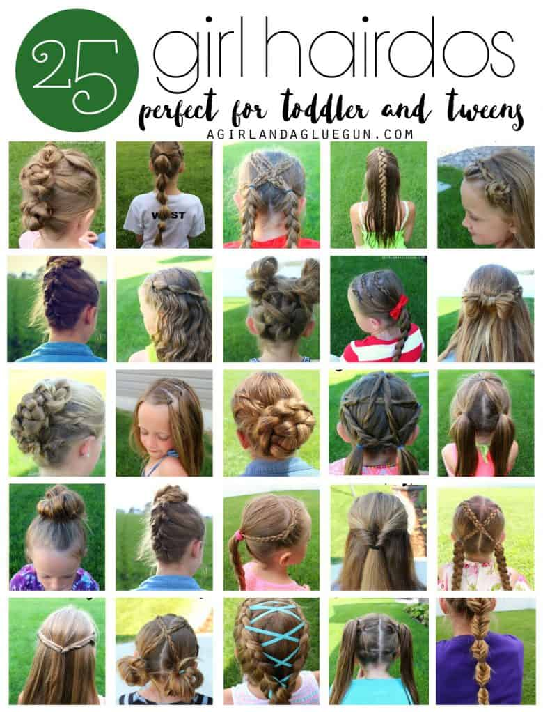 Great I Took Pictures And Here We Areu2026.25 Super Fun Hair Styles That Are Perfect  For Toddlers And Tweens!