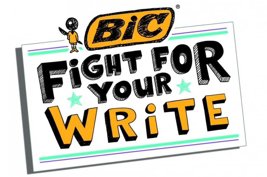 Image result for fight for your right to write