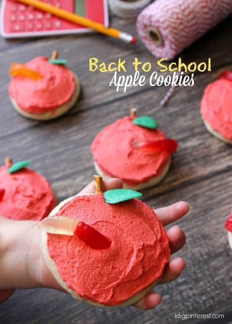 Back to School Apple Cookies1