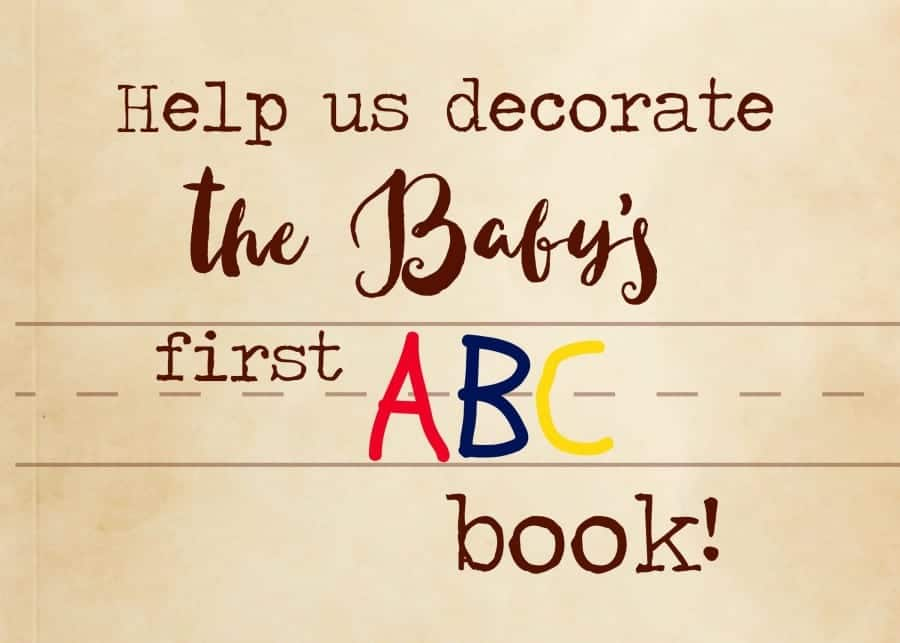 abc book printable