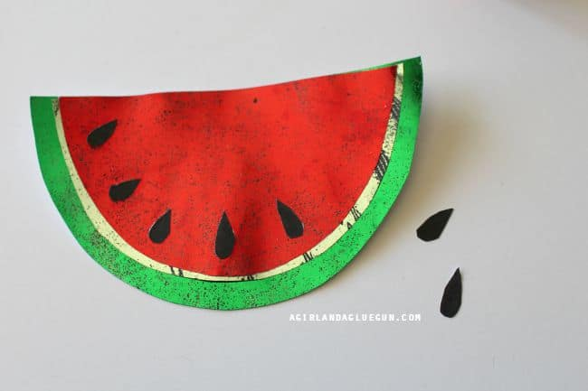 add watermelon seeds
