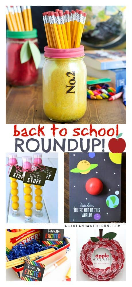 back to school crafts, diy, printables, food