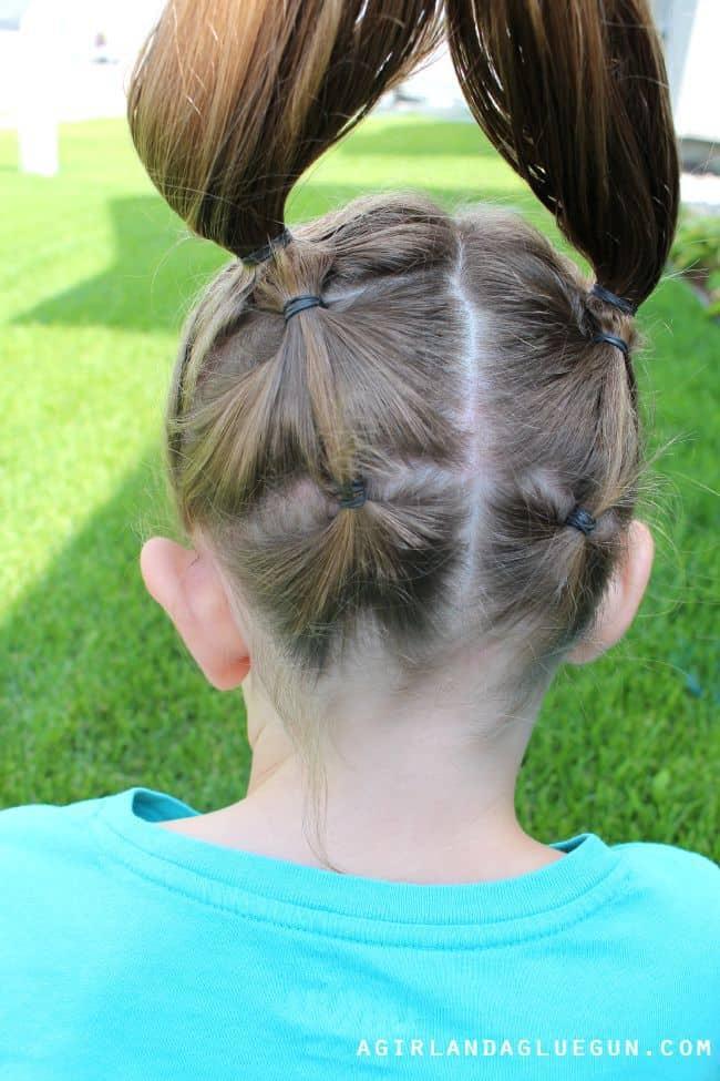 backside of hair