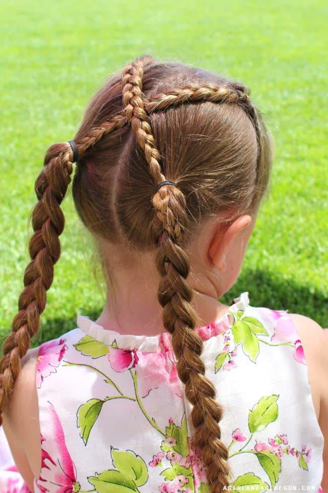 braided hair for tweens