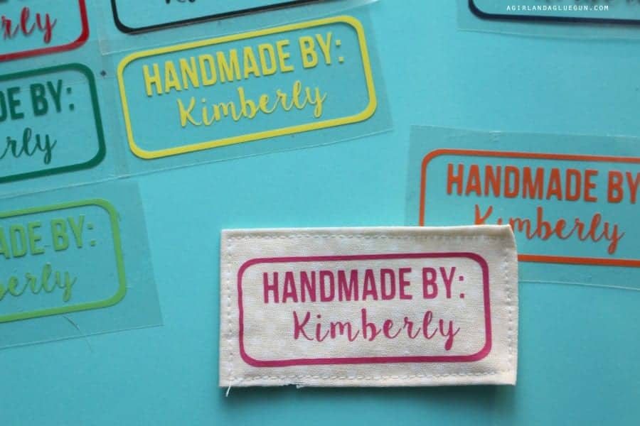 custom tags for sewing projects