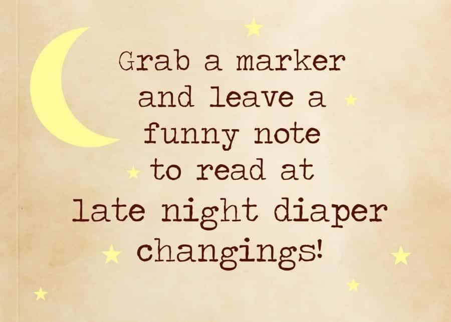 diaper sign