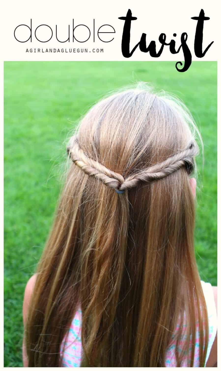 double twist in hair