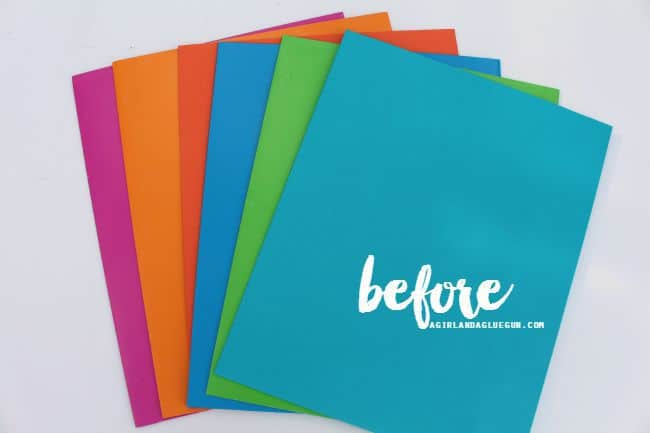 file folders for school