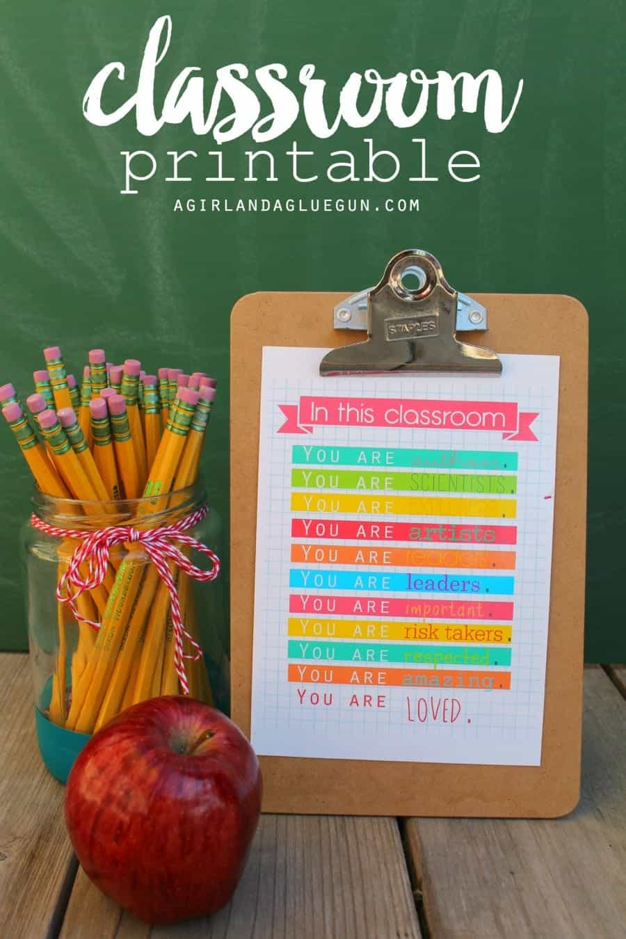 free classroom printables for teachers back to school
