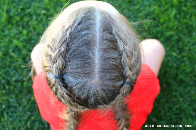 french braid cross over
