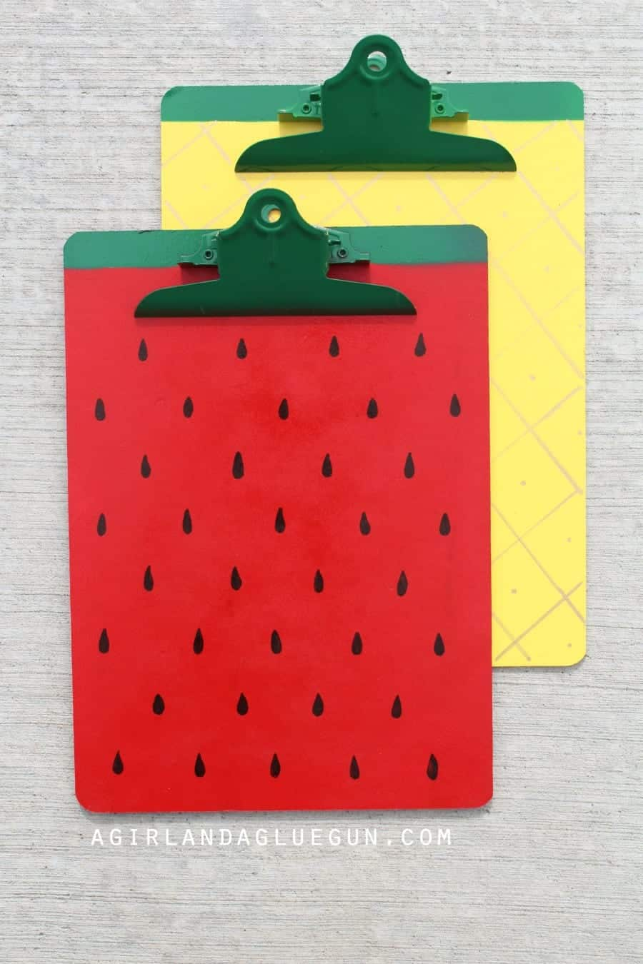 fruit clipboards