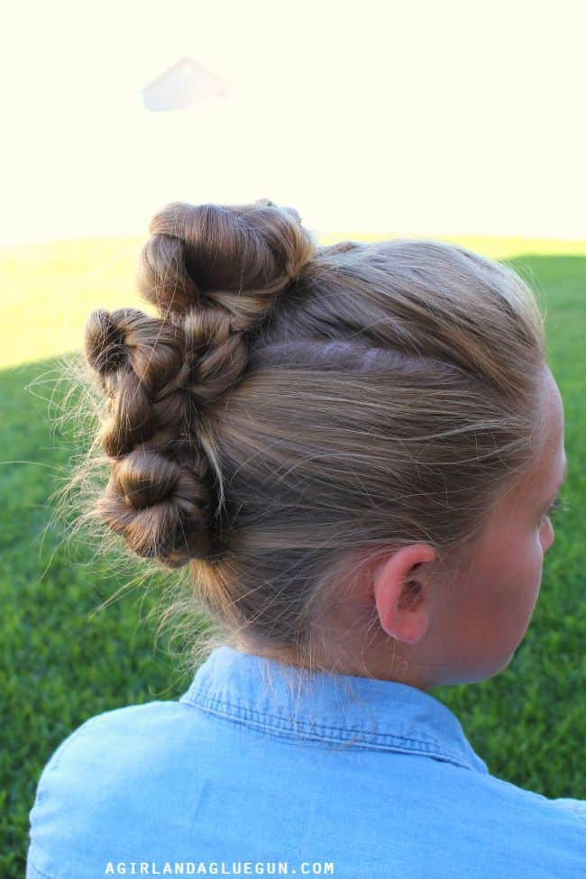 fun hair do for teen girls