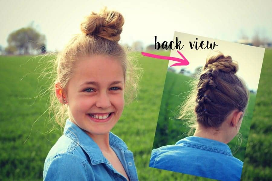 hair do front and back