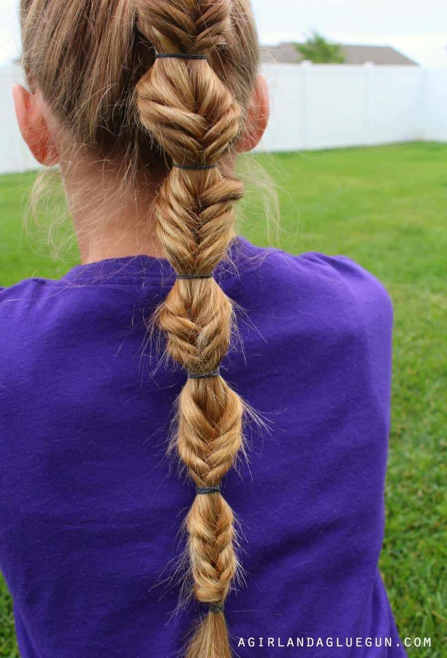 how to do a fish tail hair