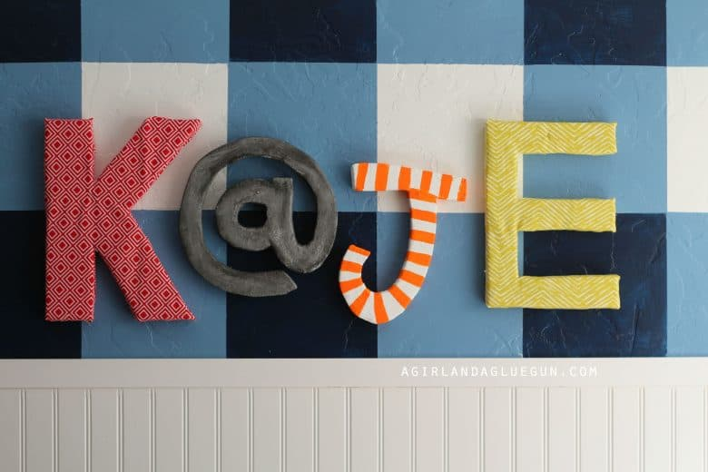 Big Letters From Floracraft 174 Foam A Girl And A Glue Gun