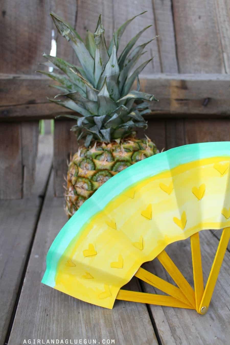 pineapple fans