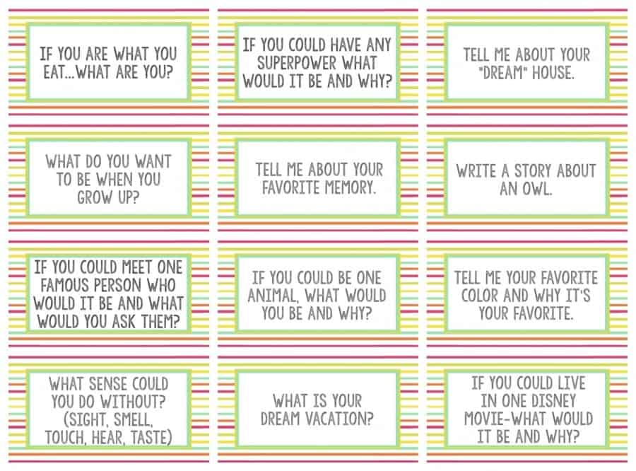 question free printables
