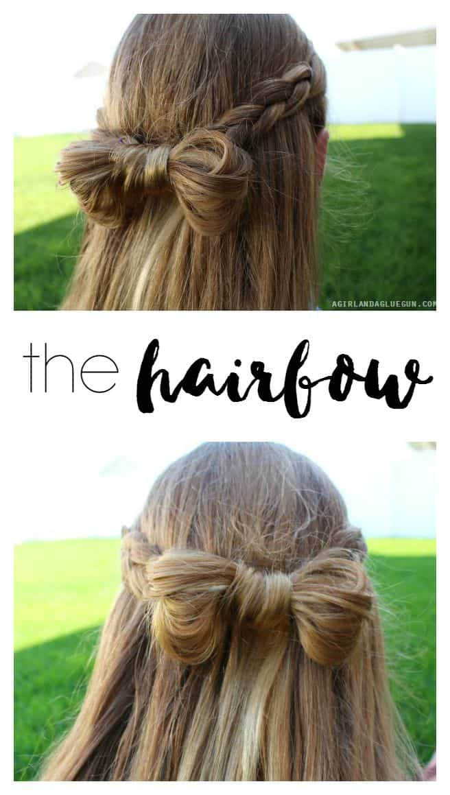 the hairbow hairstyle
