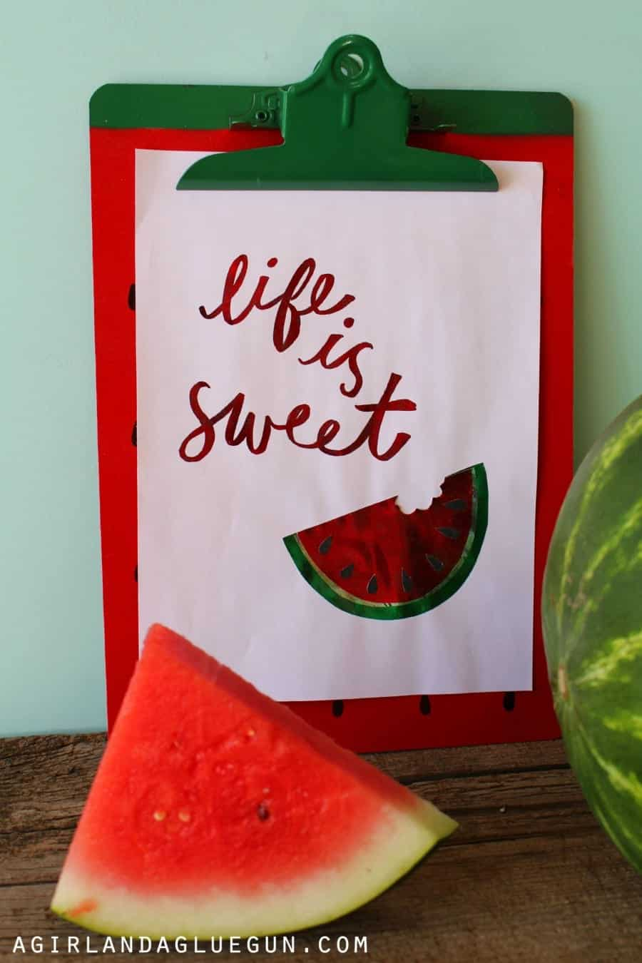 watermelon printable for the minc machine