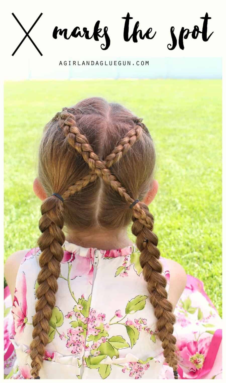 x marks the spot braided hair